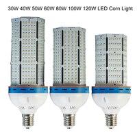 50pcs/lot DHL shipping 100W LED corn bulb lamp E40 E27 SMD 2835 LED warehouse lighting with MeanWell LED power,industrial light