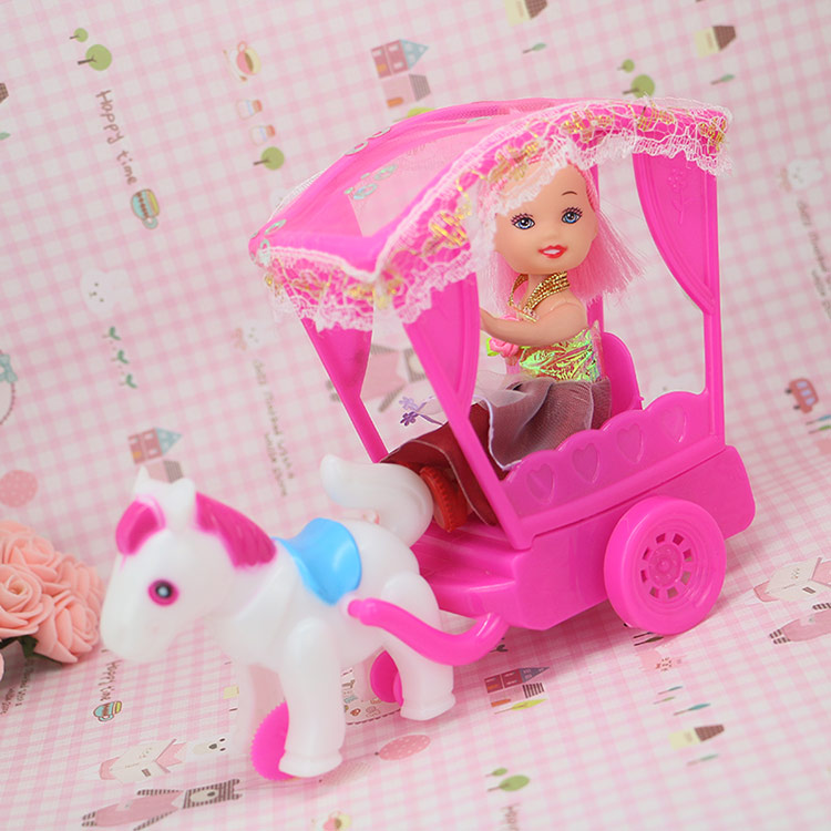 2015 New Inertia Energy Carriage For Barbie The 1/6 Kelly Doll Equipment Kids's  Present Toys