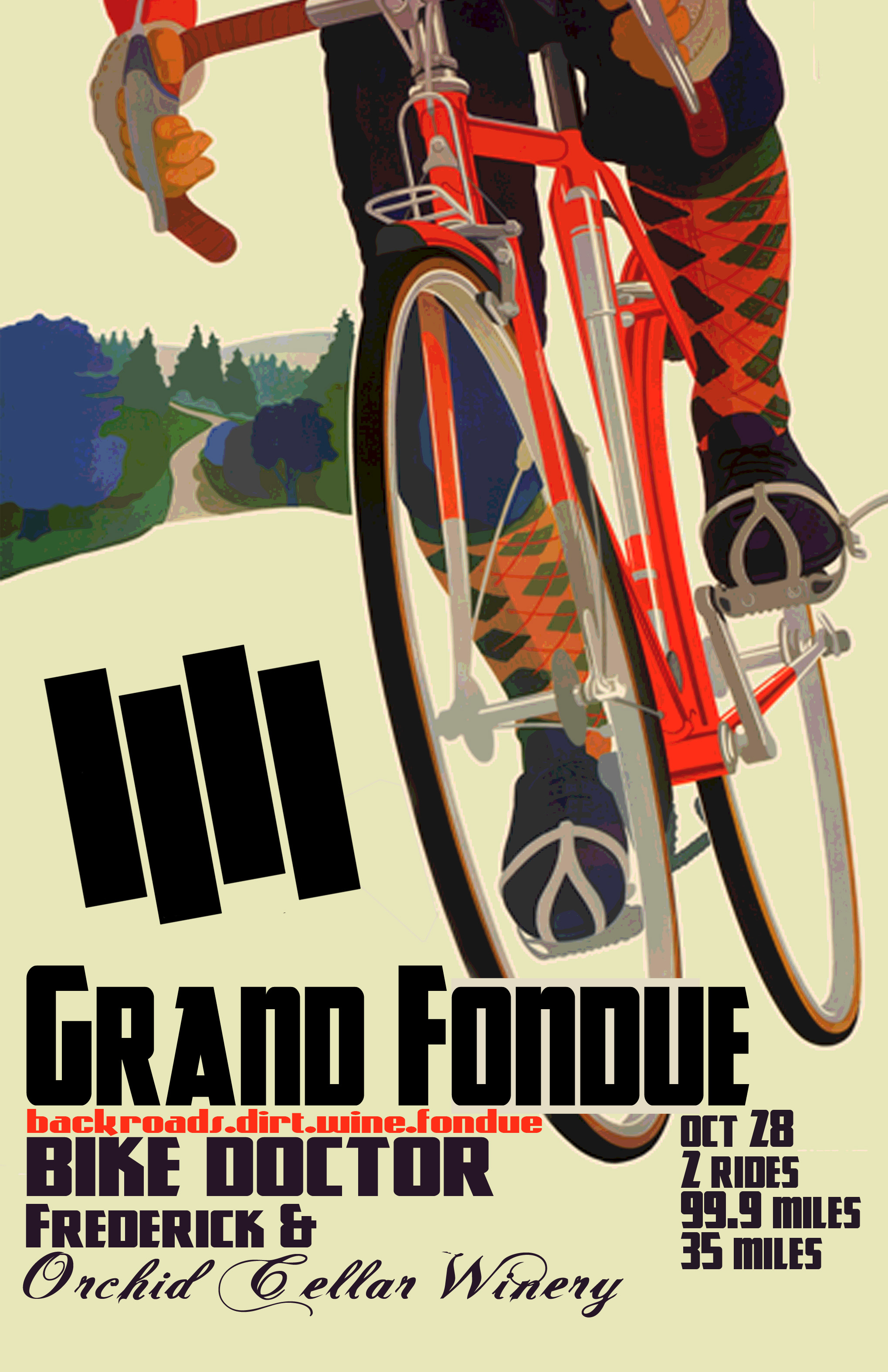 Frantic Bicycle Bike Marathon Game Vintage Retro Kraft ...