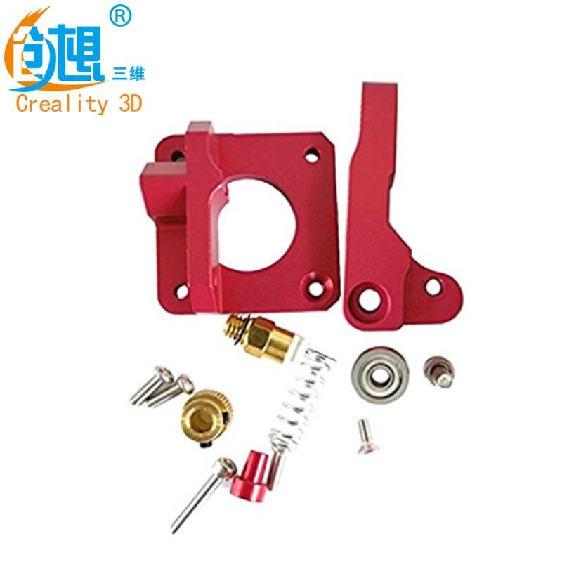 Actualización 3D impresora MK8 extrusora bloque de aleación de aluminio bowden extrusora 1,75mm filamento para creality 3d CR-7 CR-8 CR-10