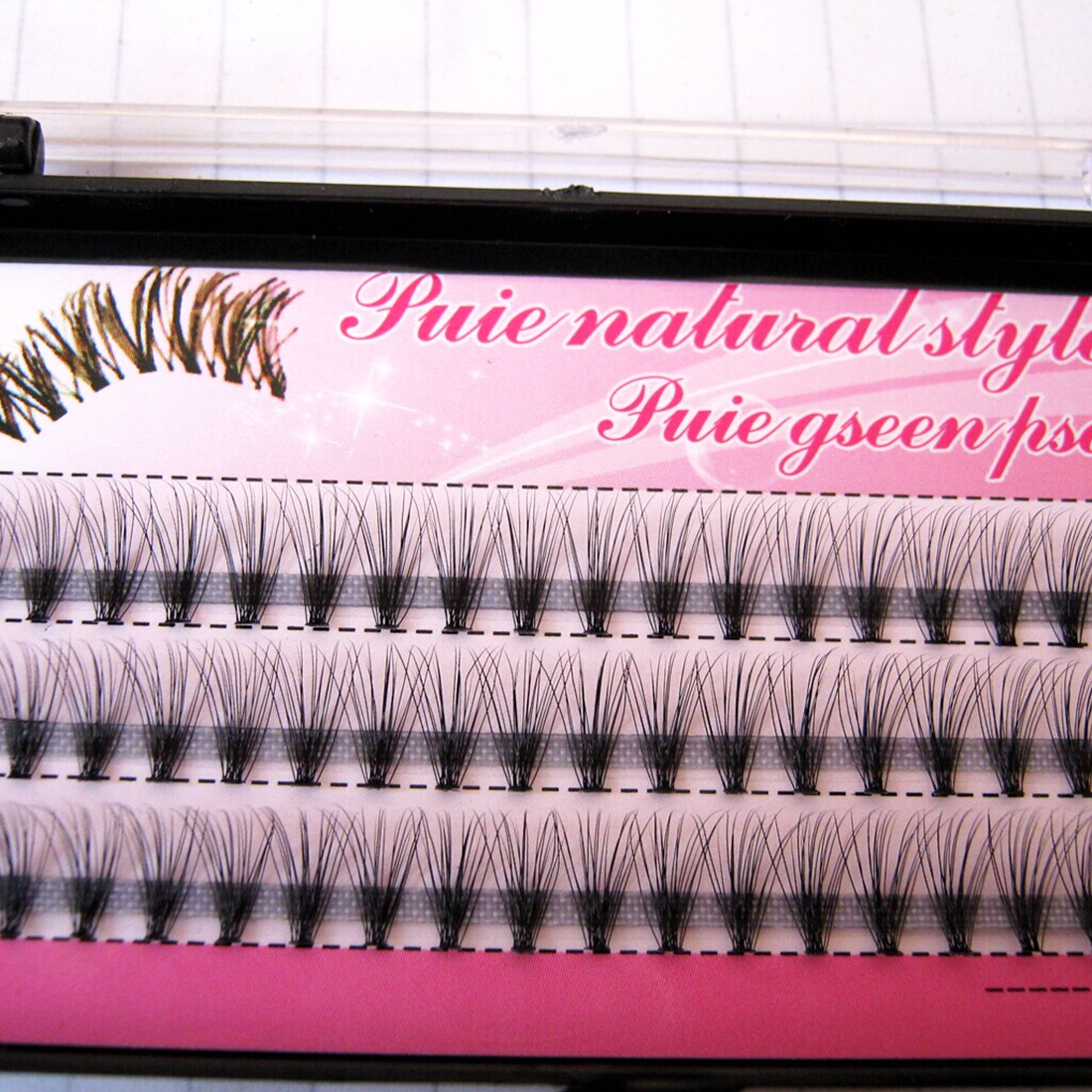 Soft Natural False Eyelashes Self-grafting Eyelashes Planting Eyelashes Professional Makeup Personal Tufting Eyelashes