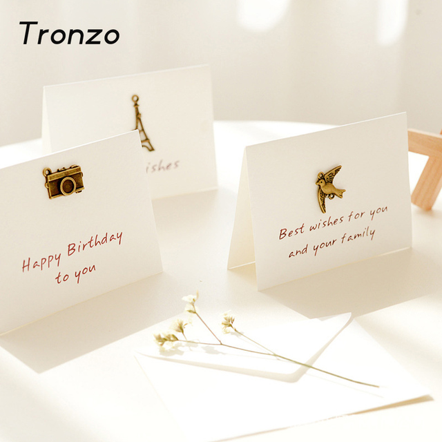 Aliexpresscom Buy Tronzo Party Decoration Greeting Card With