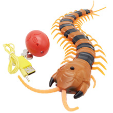 Novelty Fun Toys Radio Infrared Remote Control Machine Bionic Centipede Prank Funny Gadgets Children Christmas And Birthday Gift