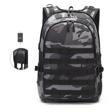 multifunction large capacity canvas male bag anti-theft waterproof laptop backpack men travel usb charging 15.6 inch backpacks