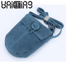Women small shoulder bag real leather fresh mini fashion genuine women crossbody phones holder