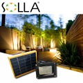 2016 Panel Solar 12 LED Sensor de Luz Solar Al Aire Libre de Inundación de Emergencia de Seguridad Jardín Pared Camino Lámparas Spotlight