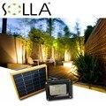 2016 Solar Panel  12 LED Solar Light Sensor Outdoor Emergency Flood Security Garden Path Wall Lamps Spotlight
