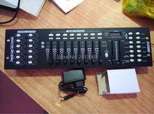 Топ-продажи 192 dmx контроллер свет этапа 512 dmx консоли контроллер dj оборудование бесплатная доставка