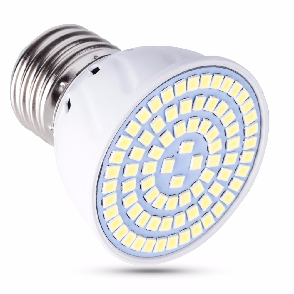 Spot Light E27 LED 220V Bulb B22 Ampoule GU10 Led Lamp GU5.3 E14 Lampada MR16 8W 48 60 80leds Living Room Decoration Led Light