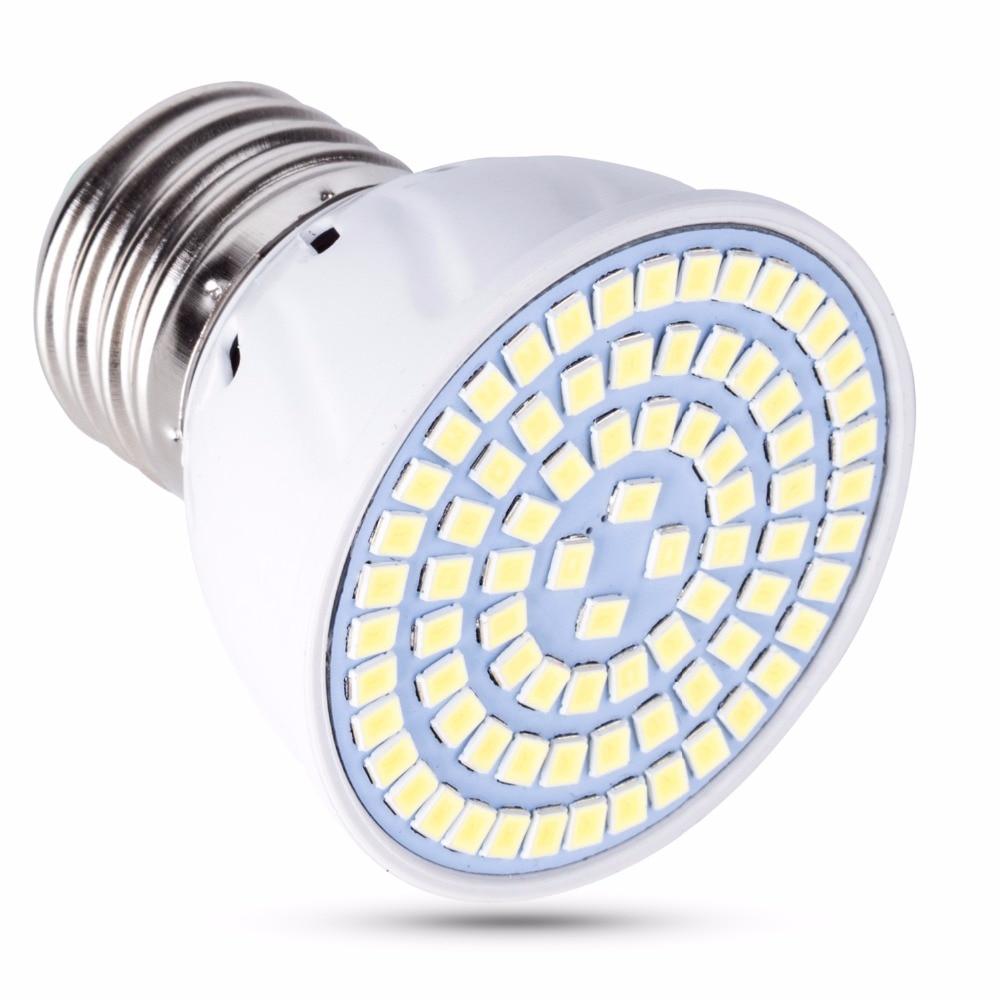 Spot Light E27 LED 220V Bulb B22 Ampoule GU10 Led Lamp GU5.3 E14 Lampada MR16 8W 48 60 80leds Living Room Decoration Led Light