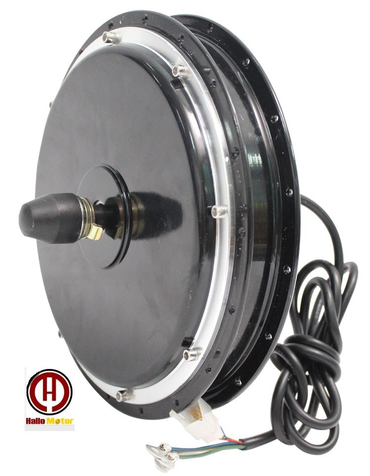 ConhisMotor 36V 48V <font><b>750W</b></font> Ebike Brushless Gearless Front Hub <font><b>Motor</b></font> Dropout Width 100mm Electric Bicycle Conversion Kits Parts image