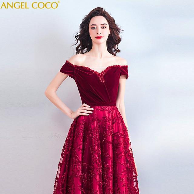 44895e9f8b3 High-End Quality Burgundy Velour Pregnant Bride Wedding Evening Dress  Maternity Dresses Pregnancy Clothes For Pregnant Women