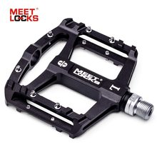 MEETLOCKS Utral Sealed Bike Pedals, CNC Aluminum Body, For MTB Road Cycling , 3 Bearing Bicycle Pedal(China)