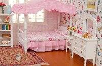 1:12 Cute MINI Dollhouse Miniature Furniture accessories dollhouse Bedroom furniture cabinet