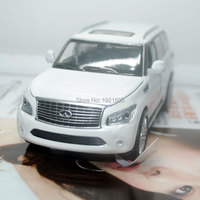 Brand New CAIPO 1 32 Scale Japan Infiniti QX56 SUV Diecast Metal Pull Back Flashing Musical