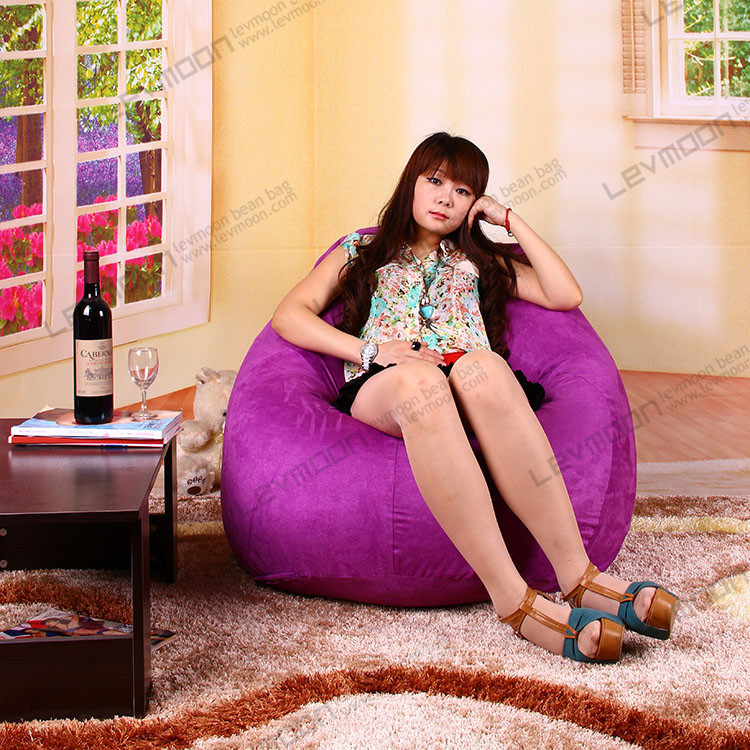 Prime Free Shipping Bdiy Bean Bag Cover No Filling Tear Drop Bean Pabps2019 Chair Design Images Pabps2019Com