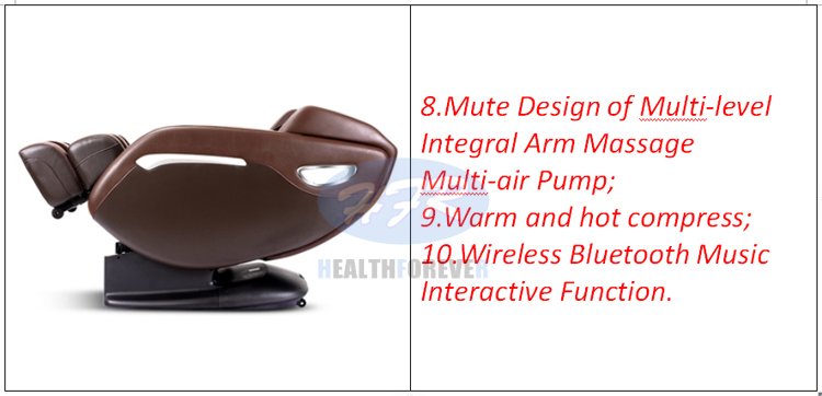 Health Care Hfr-9200 Luxury 3d Sl Track Zero Gravity Full Body Electric Massage Chair