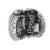Pave abrir meu coração encantos clipe serve para pandora pulseiras com rosa zirconia cúbico authentic 925 sterling silver jewelry
