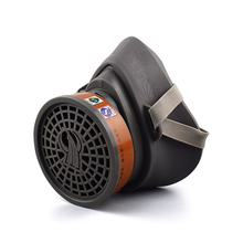 Painting Spraying Gas Mask Respirator Activated Carbon Mask Anti particulate Filters Anti dust Anti fog Mask