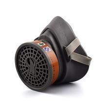 Schilderen Spuiten Gasmasker Masker Actieve Kool Masker Anti Roetfilters Anti stof Anti Fog Masker