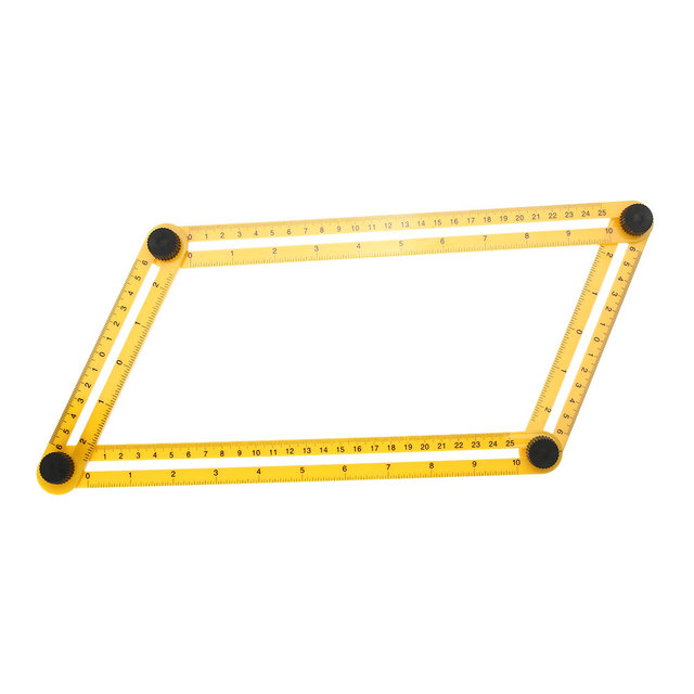 Multifunctional Angle Izer Template Tool Plastic Measuring Four