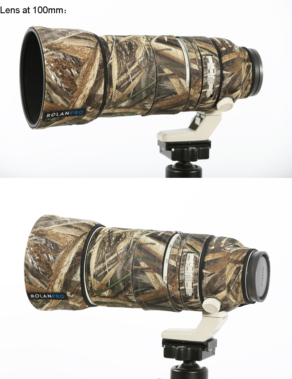 High Quality camouflage lens cover