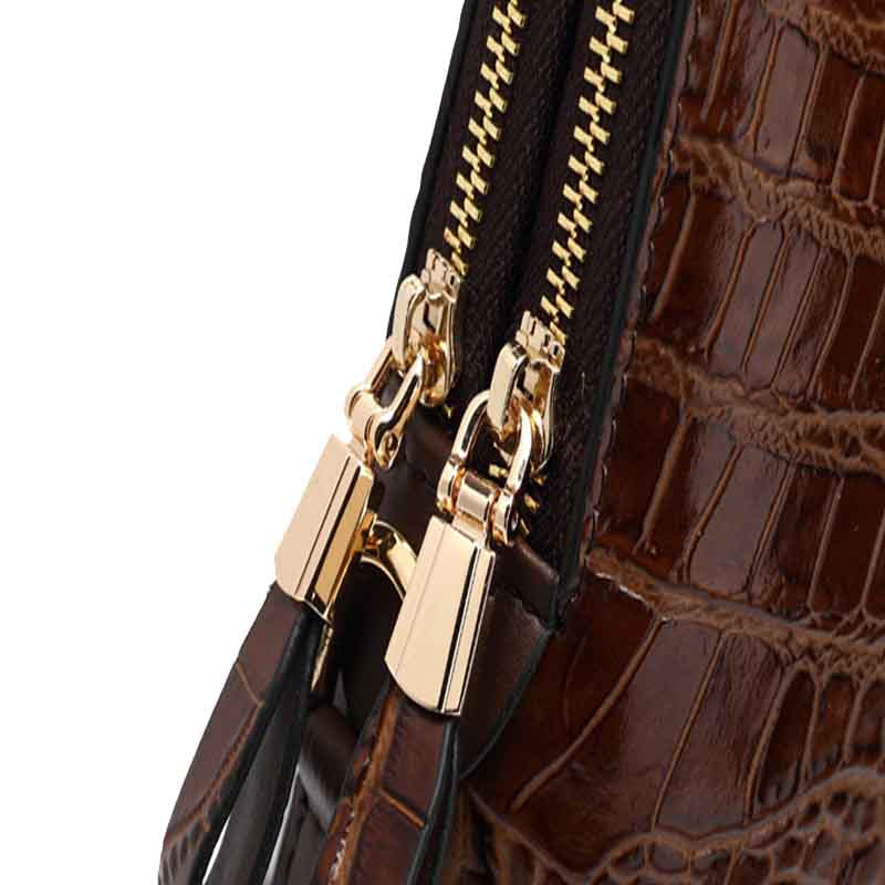 2017 Limited Polyester Zipper New Men 39 s Korean Version Of The Handbag Pattern Leather Briefcase Authentic Shoulder Bag Cross in Briefcases from Luggage amp Bags
