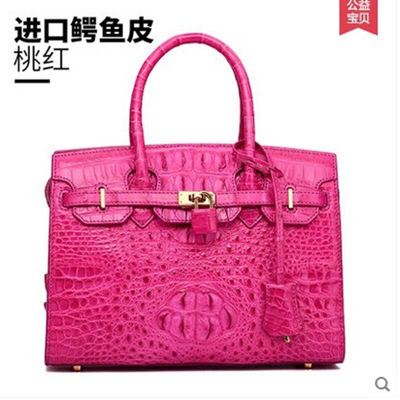 hlt new 2017 crocodiel skin women handbag women bag  women's handbag single shoulder women bag щипцы hlt 10