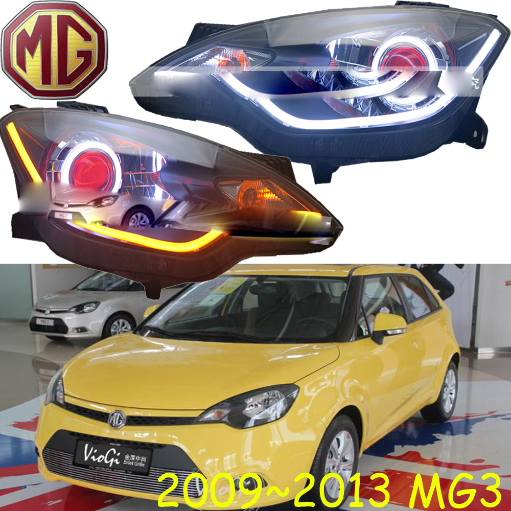 MG3 headlight,2011~2014,Fit for LHD,Free ship! MG3 fog light,2ps/set+2pcs Ballast; MG5,MG6,MG7,MG 3 mitsubish grandis headlight 2008 fit for lhd