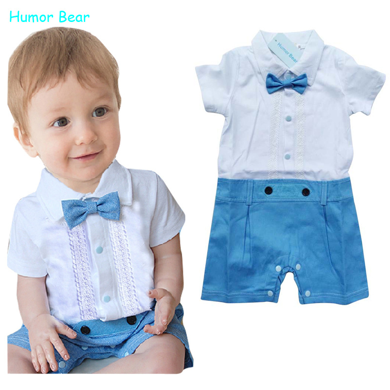 Aliexpress.com  Buy Humor Bear New Summer Style Baby Boy Clothing Set Fashion Gentleman Style ...