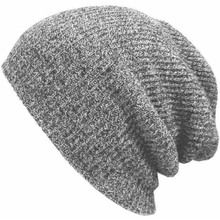 Winter Hats for Men Women Knit Casual Hat Crochet Baggy Beanie Ski Slouchy Chic Knitted Cap Skull Autumn Hat For Girl And Boy цена в Москве и Питере