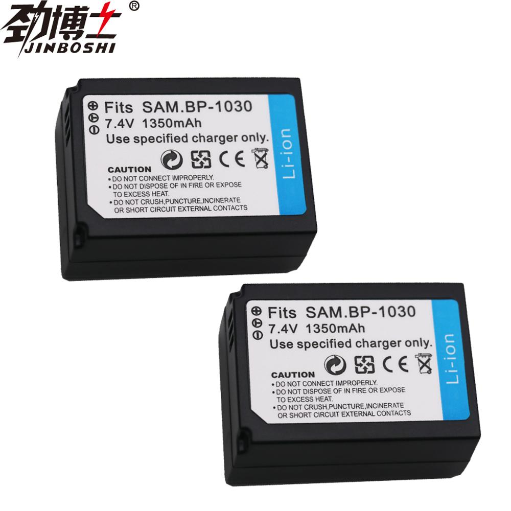 2pc 1350mAh BP-1030 BP1030 Replacement Camera <font><b>Battery</b></font> For <font><b>Samsung</b></font> NX200 NX210 NX300 NX1000 <font><b>NX1100</b></font> Rechargeable Digital <font><b>Battery</b></font> image