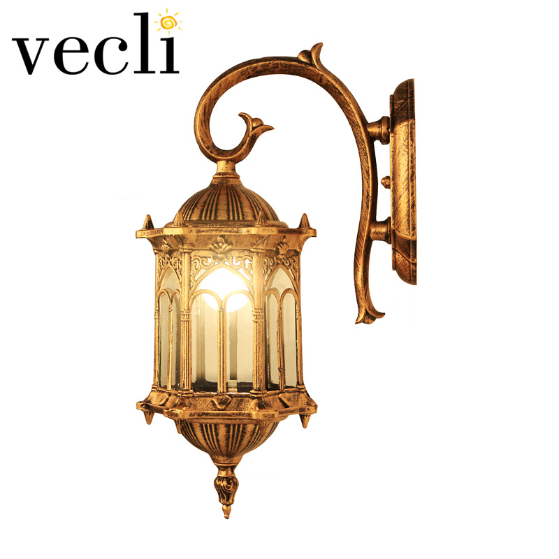 Популярные в Европе открытый свет Вилла бра водонепроницаемый наружные дверях освещения ...
