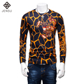 2016 Long Sleeved Sweaters and Pullovers Hombre Men's Casual Fashion Slim Fit O Neck Knitted Sweaters Plus Size M-5XL Sweaters
