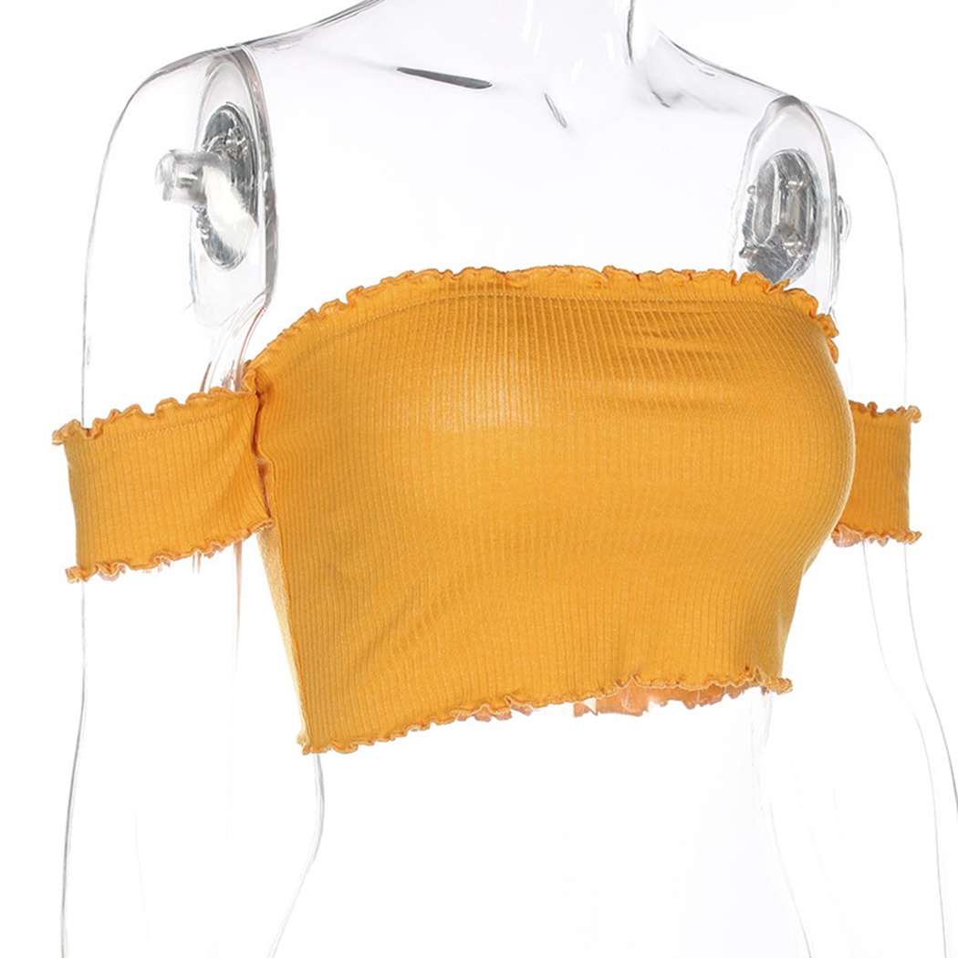 HTB1szCshFuWBuNjSspnq6x1NVXaY - FREE SHIPPING Yellow Off Shoulder Short Sleeve T-Shirt JKP407