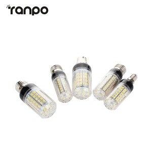 Image 2 - E27 E14 220V LED Lamp 5730 SMD LED Corn Bulb Lampada Ampoule Lighting 24 27 30 36 59 69 72 Leds Lamp Bombillas Light Bulbs