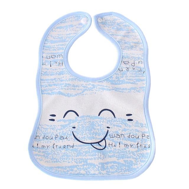 912ffc43fa79 Cotton towel baby food feeding bibs waterproof breastplate scarf ...