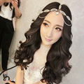 The Bride Hair Accessory Rhinestone Married The Eyebrows Jewelry Crystal Pearl Headbands Wedding Accessories Bridal Party Hot