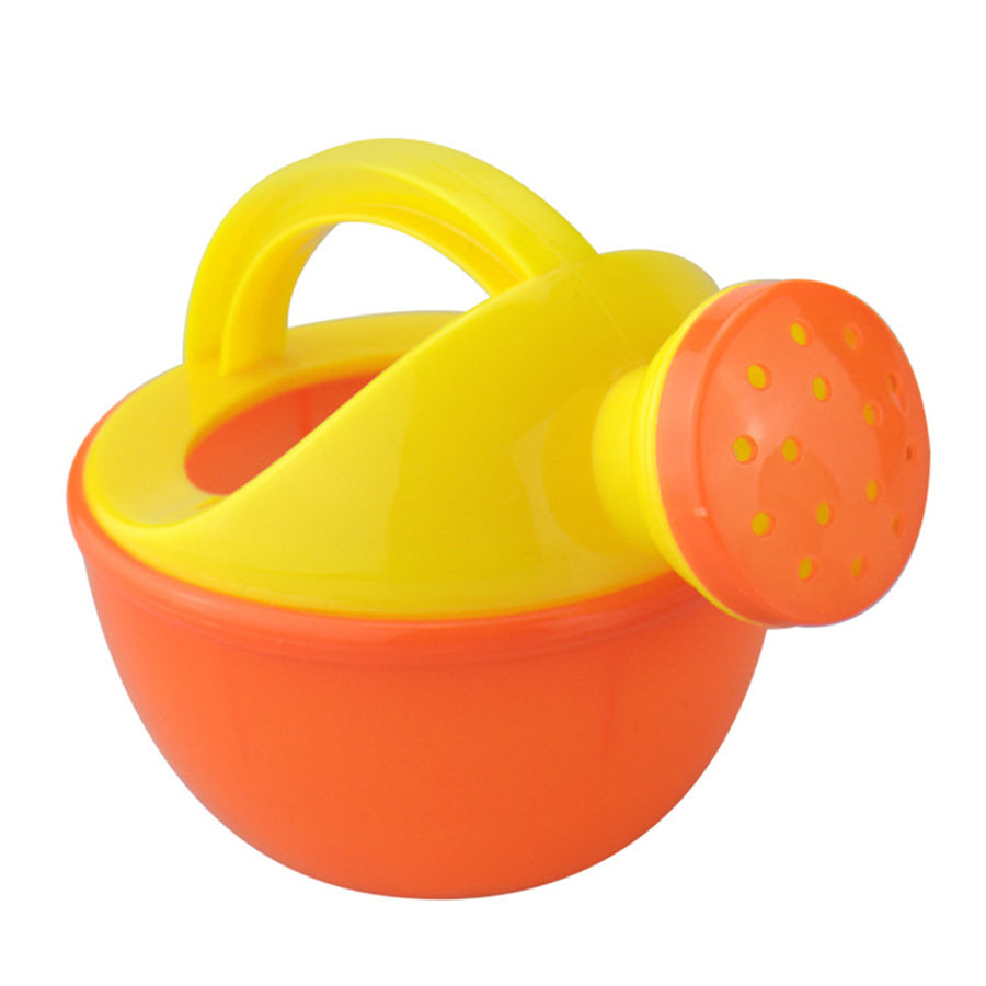 Baby Bath Toy Colorful Plastic Bathing Shower Watering Can Pot Beach Play Sand Fun Gift Toys for Children Kids Random Color 3