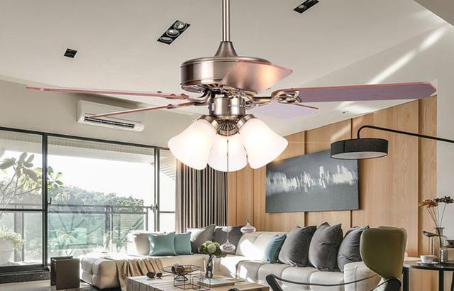Lamp Woonkamer Plafond : Lampen restaurant fan lamp van europese moderne slaapkamer