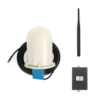Protone 65dB 850MHz 3G CDMA Mobile Phone Signal Booster Repeater Amplifier with Indoor Whip Antenna and Broadband Omni Antenna