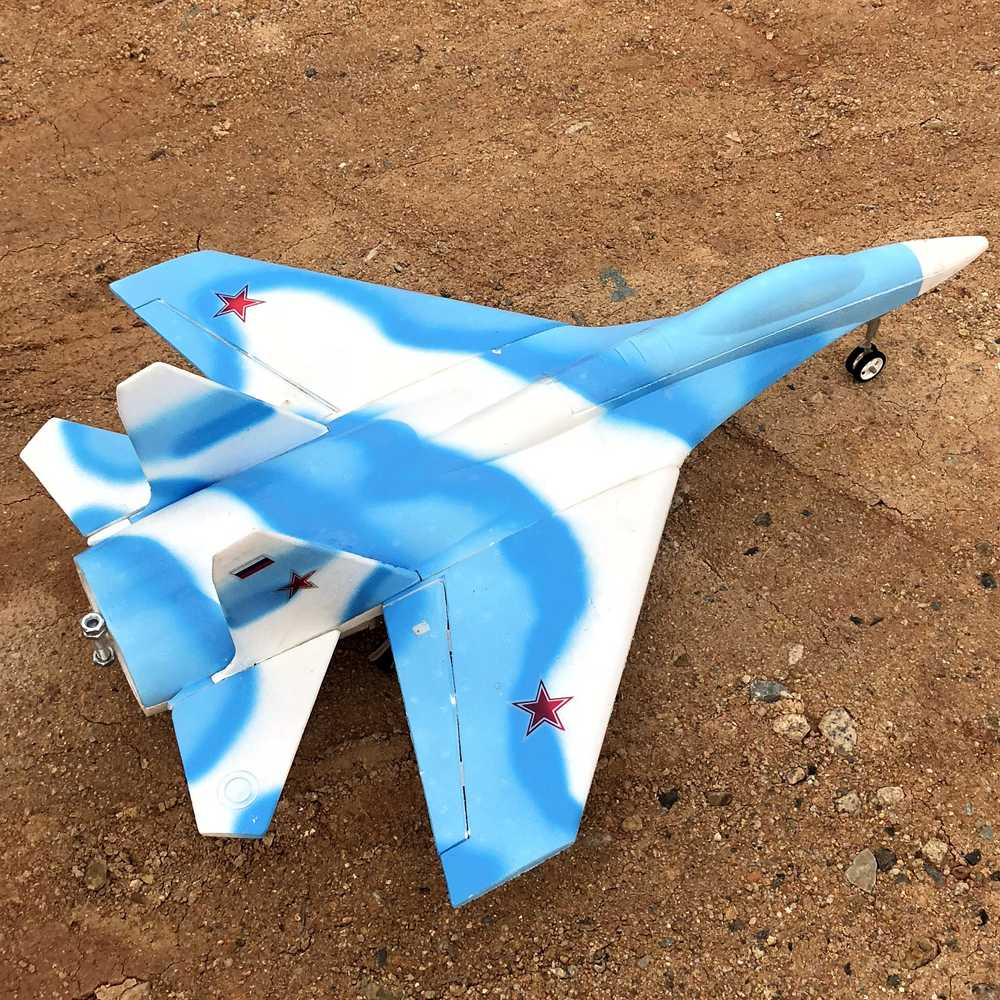 Su27 EDF RC Jet DIY Kit