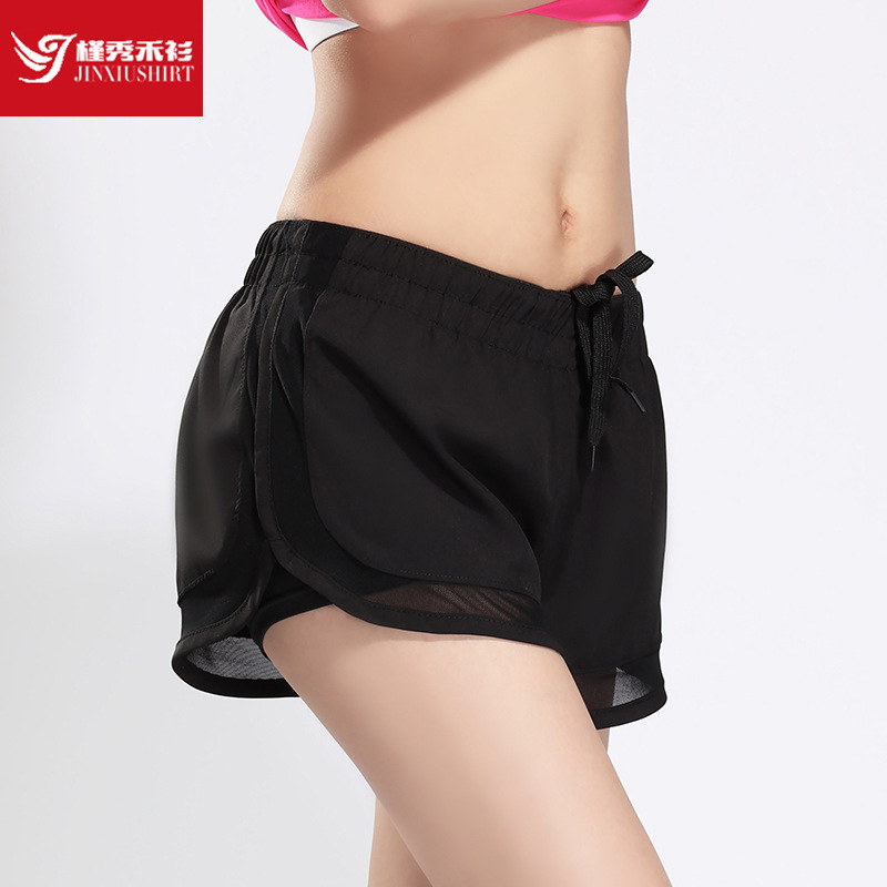 Sports Woman Fitness Shorts Summer Yoga Mesh Short Fit Women Sports Shorts Gym Workout Run Athletic Shorts