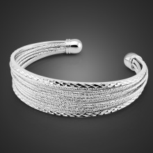 The new woman decoration silver bracelet,process bracelet,lady opening foil bracelet,Ms popular jewelry