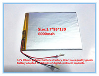 Free Shipping Large Capacity 3 7 V Tablet Battery 6000 Mah Each Brand Tablet Universal Rechargeable