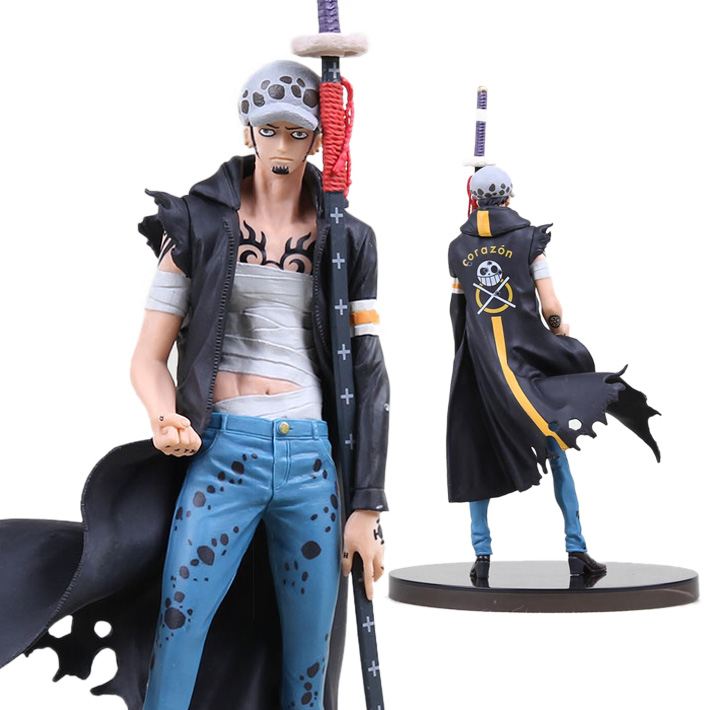 Figure One Piece Trafalgar Law Variable Action Heroes VAH IDR *kosong* Size 20cm Material PVC  figure J01 japanese anime one piece original megahouse mh variable action heroes complete action figure dracule mihawk