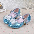New 2017 Children Princess Sandals Girls Shoes High Heels Dress Shoes Party Shoes For Girls dance shoes size26-37
