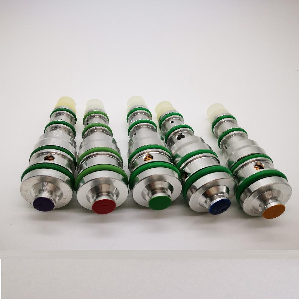 Автоматический компрессор переменного тока v5 valve40/42/44 Psi желтый/синий/красный для Lacetti Cruz Aveo Opel DAEWOO Установки для кондиционирования      АлиЭкспресс