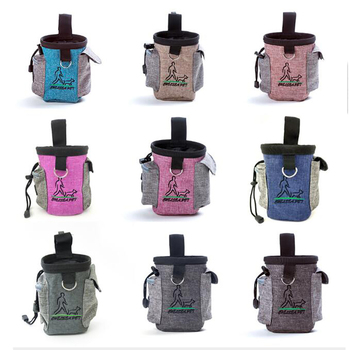 New Arrival Outdoor Dogs Snack Bag Pouch Food Bag Snack Bait Dog Dog Carriers Pack Useful Pet Dog Training Treat Drop Shipping the new multi color pets go out of the food bag dog training waist bag easy to carry bag pet supplies pet snack bag dog carriers