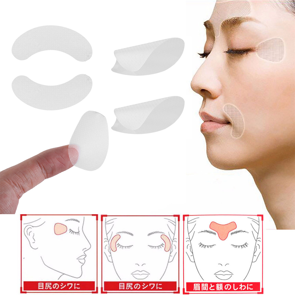 <font><b>Professional</b></font> Face Anti-Wrinkle Sticker Facial Line Sagging Lift Up Tape Forehead Wrinkle Fast Beauty Face <font><b>Skin</b></font> <font><b>Care</b></font> Lift <font><b>Tools</b></font> image